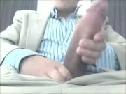 Huge White Cock Solo