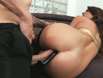 Big White Cock and Cassandra Nix in Hot Anal