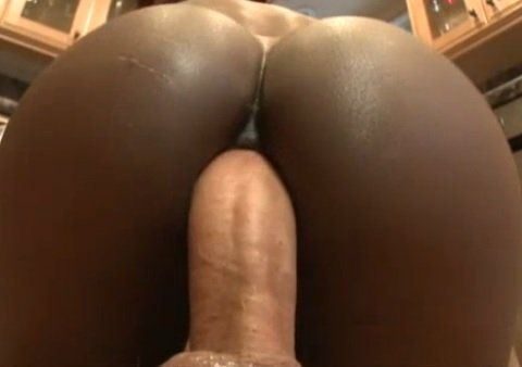 Ebony bbw interracial anal