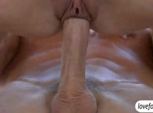 Hot Brunette Teen Loves the Big White Cock