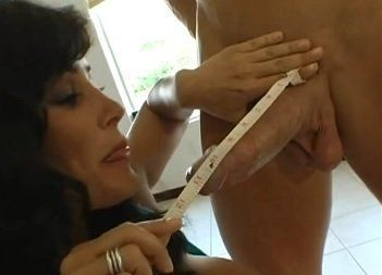 Busty Mature Fucks With Young Boy with Big Cock