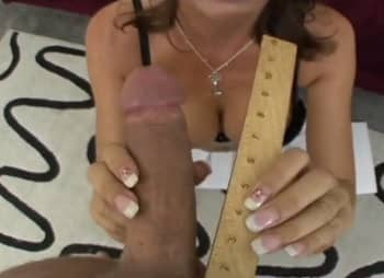 Eleven Inches Of White Cock Breaking Hairy Cougar