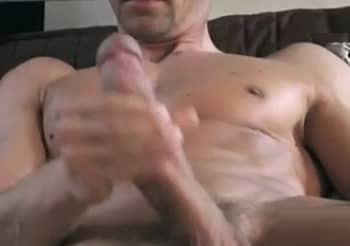 Steffen Herrmann Masturbating His Huge Cock Solo