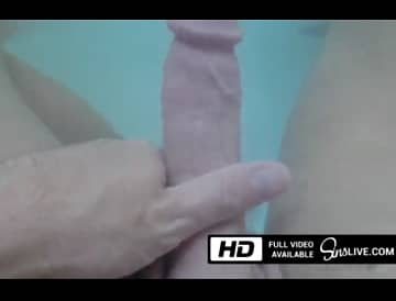 Johnny Sins Playing In The Bathtub With His Big Dick