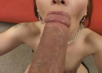 Milf With Round Ass Feeling The Monster Cock POV