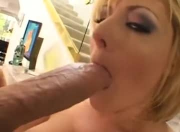 Tanned Bitch Feels The Fat White Cock POV