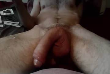 Anonymous Jerking Huge Cock On Webcam