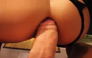 Horny Danika Takes Fat Cock In Her Butt Amateur