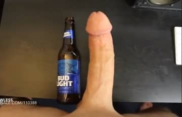 Sean Lawless Measuring His Big Dick Solo