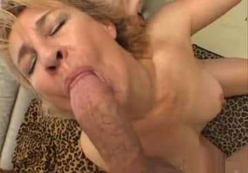Real Blonde Milf Loves Huge Cock Pov