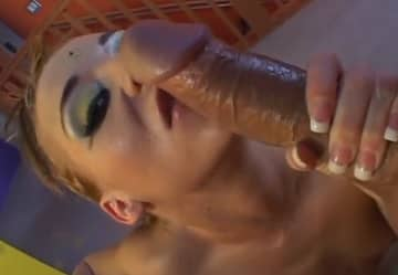 Amazing Anal Creampie With German Big Dick