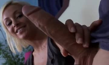 Big White Dick Shocks The Blonde Lexi Swallow