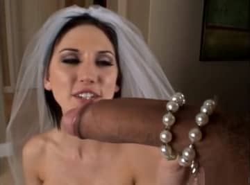 Brunette Wife Likes Big White Dick