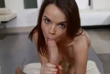 Cute Dillion Harper Sucking Anaconda Dick