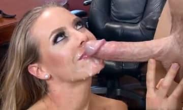 Nicole Aniston Taking Huge White Dick On Work