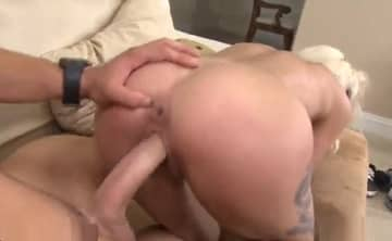 Young Big Cock Fucks Perfect Blonde Milf