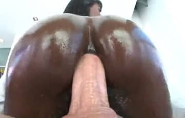 Black Babe Was Exploded By Big Fat Cock
