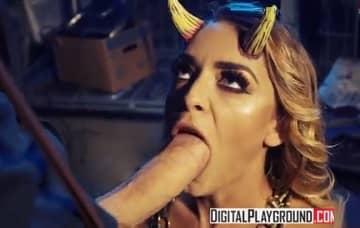 Danny D & Liza Del Sierra In Nevermore Episode 2