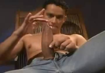 Brazilian Big Cock Rafael Alencar Jerking Off