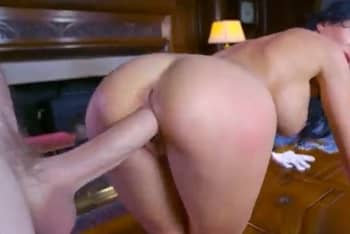 Busty Russian Bitch Taking Biggest Dick
