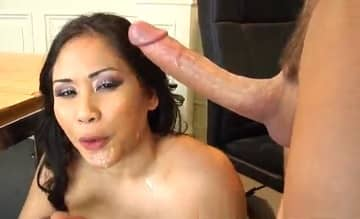 Young Monster White Dick Eats Asian Teacher