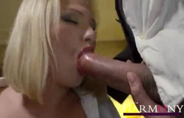 Blonde Student Taking Big Heavy Cock Anal
