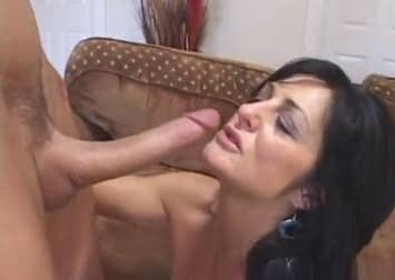 Young Monster White Cock Fucks Wife In Front Of Cuckold