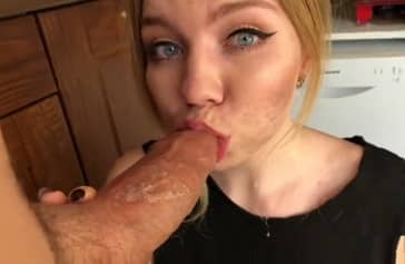 Blonde Russian Teen Fucking Big Dick Amateur